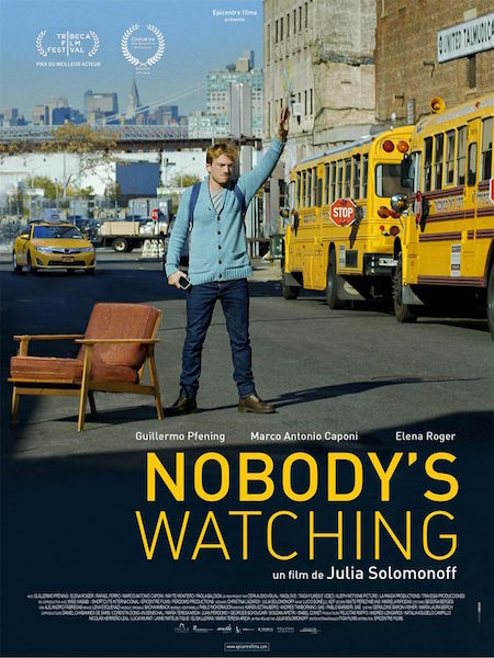 Nobodys Watching - affiche