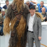 Chewbacca et Ron Howard