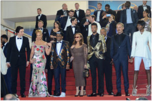 Montee des Marches - Spike Lee pour BlacKkKlansman - Cannes 2018 - Photos Philippe Prost pour CineChronicle