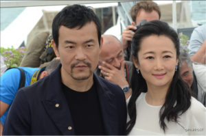 Liao Fan et Zhao Tao - Les Eternels - Cannes 2018