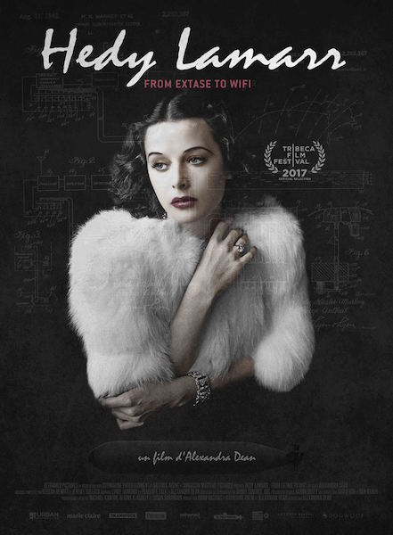 Hedy Lamarr - from Extase to Wifi affiche