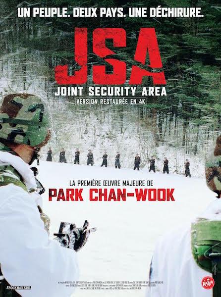JSA Joint Security Area - affiche