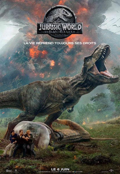 Jurassic World Fallen Kingdom - affiche