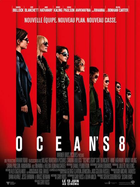 Oceans 8 - affiche