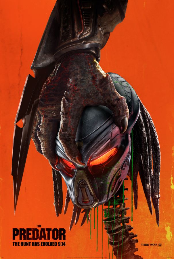 The Predator - affiche US
