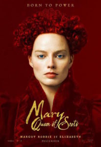 Margot Robbie - poster Mary Wueen of Scot