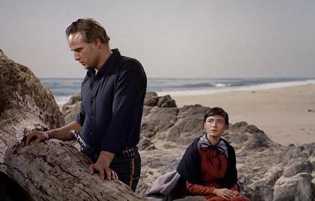 Marlon Brando et Pina Pellicer - La vengeance aux deux visages