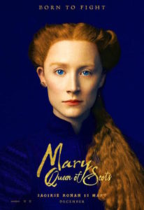 Saoirse Ronan - poster Mary Wueen of Scots