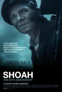 Shoah de Claude Lanzmann - affiche
