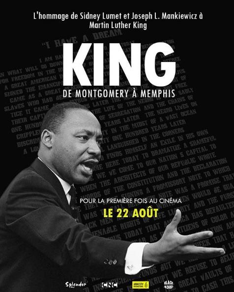 King de Montgomery à Memphis - affiche