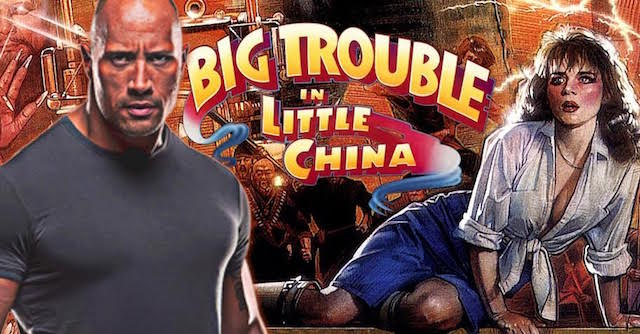 Les aventures de Jack Burton - Big Trouble in Little China - Dwayne Johnson