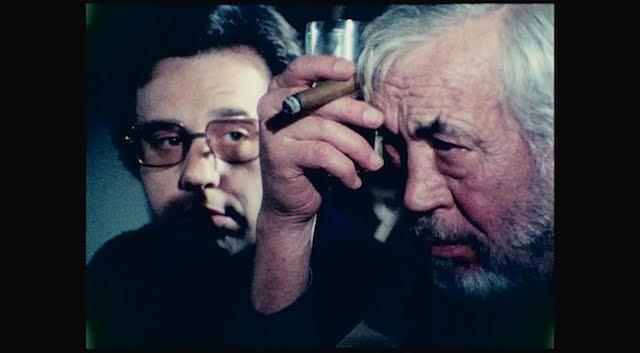 Peter Bogdanovich et John Huston - De lautre cote du vent de Orson Welles