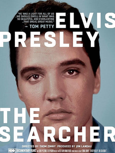 Elvis Presley The Searcher - affiche US