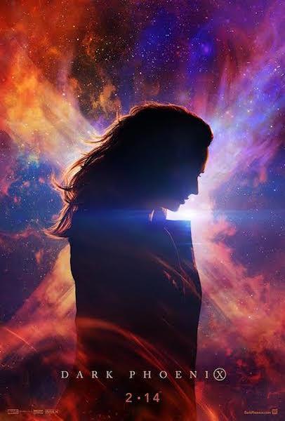 X-Men Dark Phoenix - affiche teaser