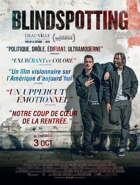 Blindspotting - affiche