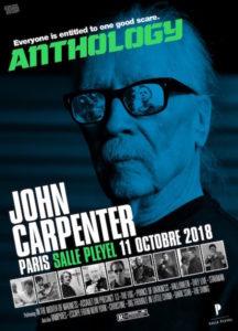 Concert John Carpenter - Salle Pleyel affiche