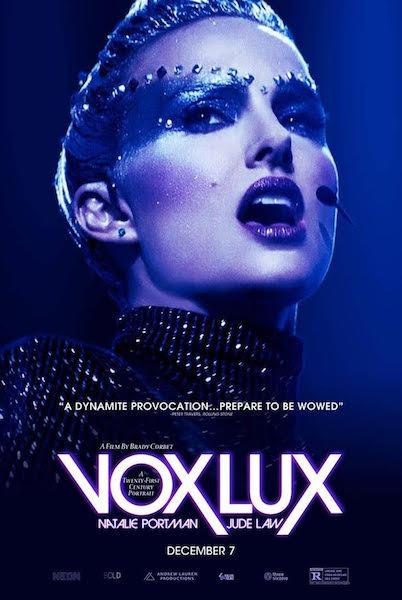 Vox Lux - affiche
