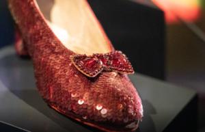 souliers de rubis de Judy Garland