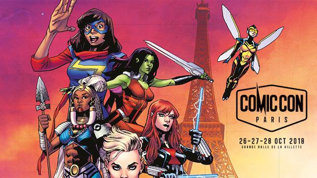 Comic-Con de Paris 2018