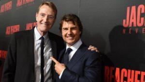 Lee Child et Tom Cruise