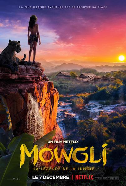 Mowgli - affiche Netflix
