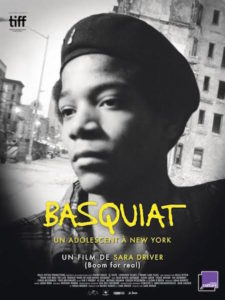 Basquiat - Un adolescent a New York - affiche