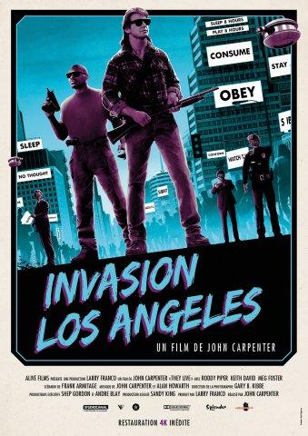 Invasion Los Angeles - affiche ressortie