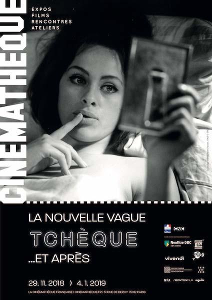 Nouvelle Vague tcheque - Cinematheque francaise affiche