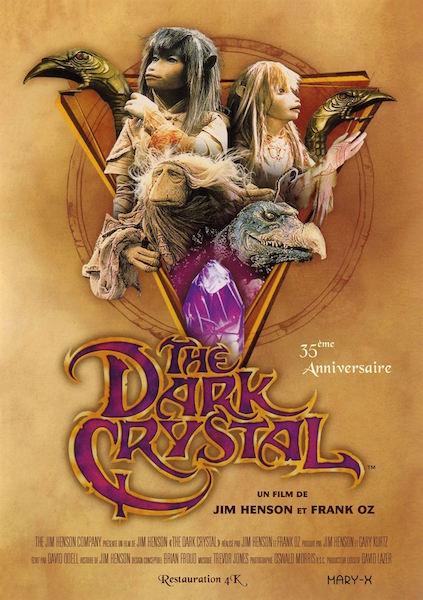 Dark Crystal - affiche ressortie