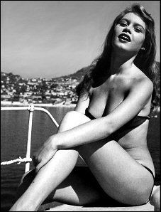 Brigitte Bardot Manina la fille sans voiles