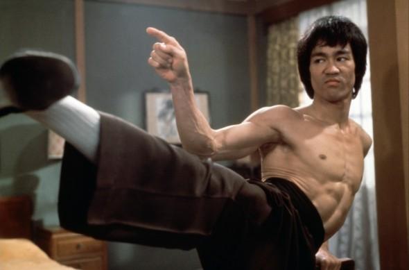 Bruce Lee dans La Fureur de Vaincre