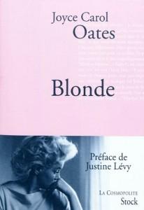 Blonde de Joyce Carol Oates sur Marilyn Monroe