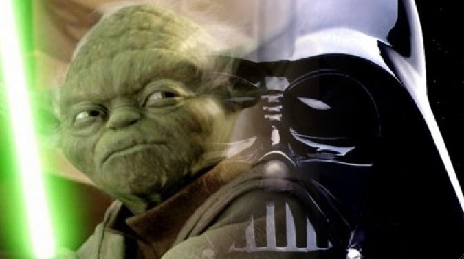 Star Wars - Yoda Dark Vador