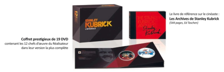 Coffret integral DVD Kubrick