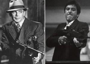 Scarface - Paul Muni et Al Pacino
