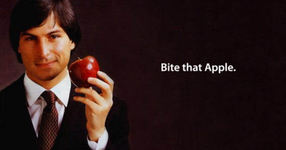 Steve Jobs - bite that apple