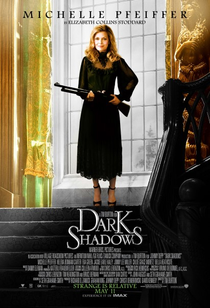 bouquet de posters des personnages de dark shadows