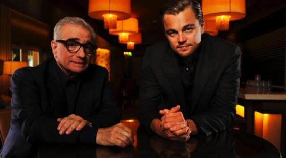 Martin Scorsese et Leonard DiCaprio