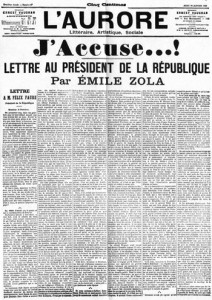 J'accuse - Emile Zola