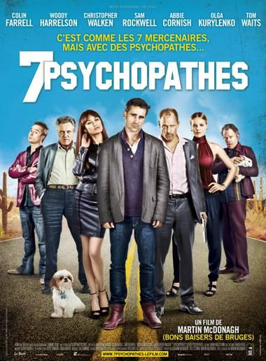 7 Psychopathes affiche francaise