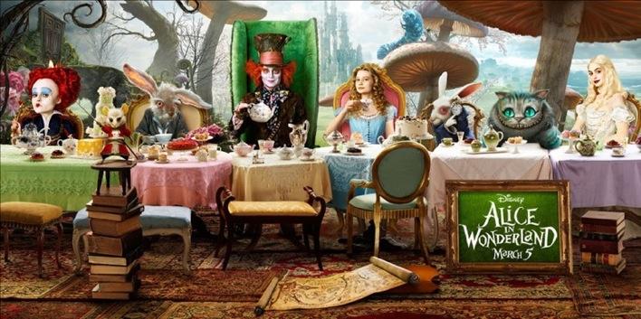Alice aux pays des Meveilles