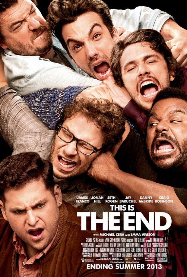 This is the End affiche