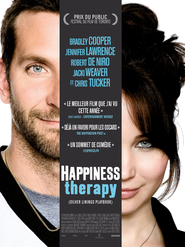 Happiness Therapy Silver Linings Playbook affiche