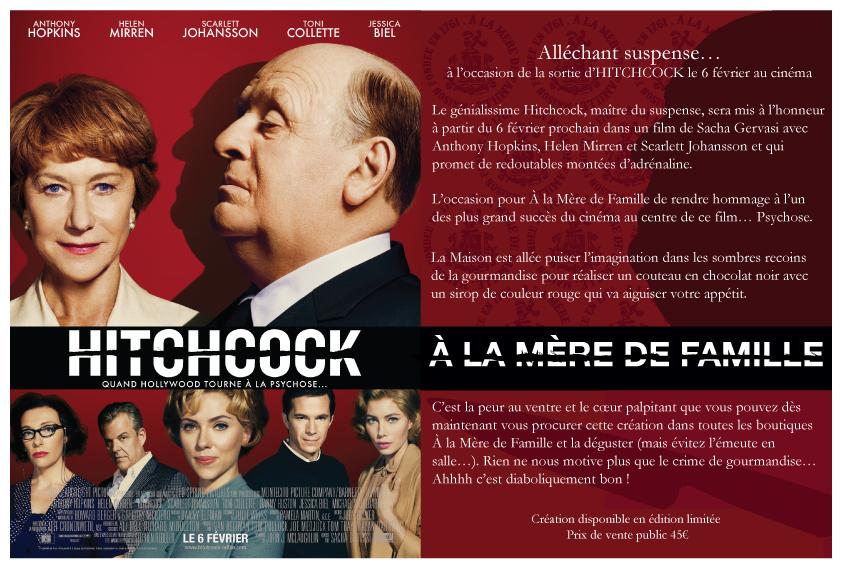 Affiche Hitchcock A la Mere de Famille