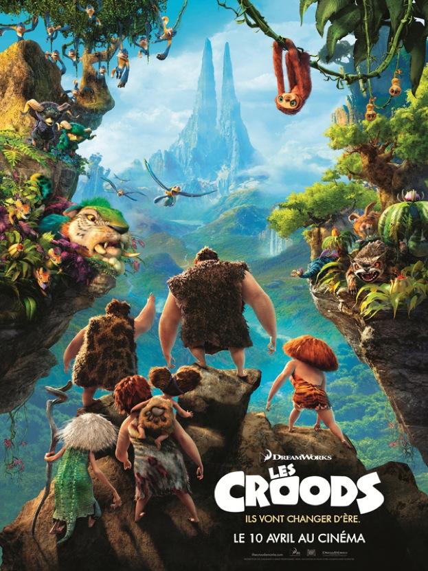 Les Croods affiche