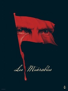Les Miserables poster oscar Phantom City Creative