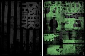 Zero Dark Thirty poster oscar Godmachine