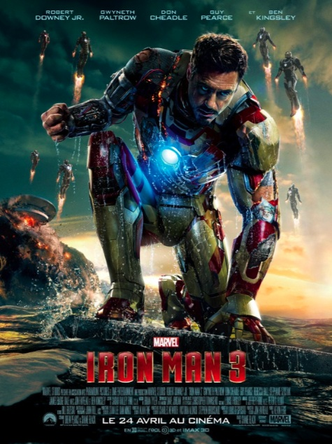 Iron Man 3 affiche france