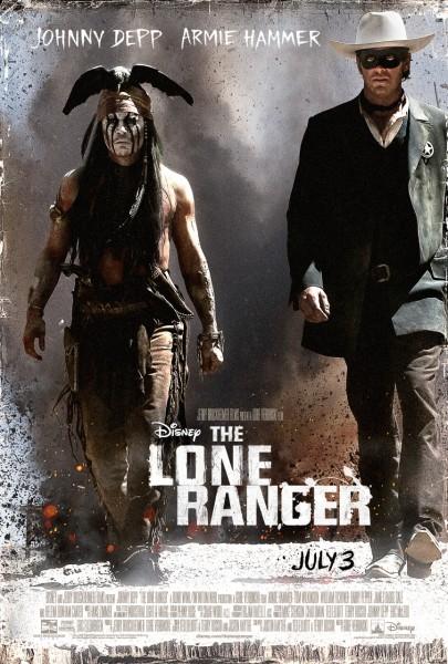 Lone Ranger affiche
