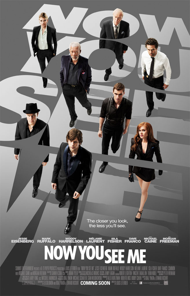Now you See Me affiche